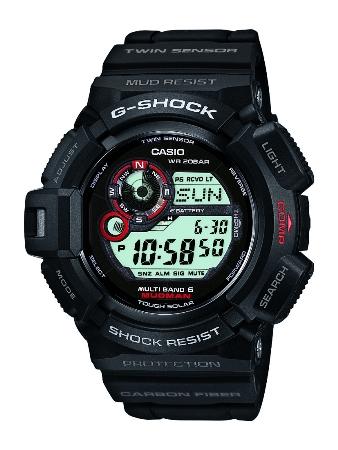 カシオ G-SHOCK マッドマン ツインセンサー GW-9300-1JF