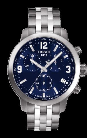 ティソ T-スポーツ PRC200 クオーツ クロノグラフ T055.417.11.047.00