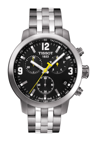 ティソ T-スポーツ PRC200 クオーツ クロノグラフ T055.417.11.057.00