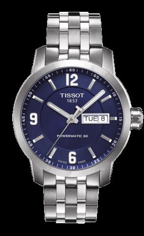 ティソ T-スポーツ PRC200 デイデイト オートマティック T055.430.11.047.00
