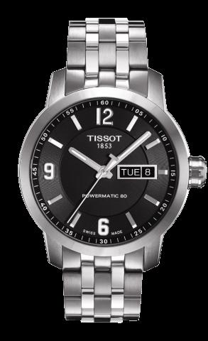 ティソ T-スポーツ PRC200 デイデイト オートマティック T055.430.11.057.00