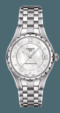 ティソ レディ80 オートマティック ダイヤモンド T072.207.11.116.00