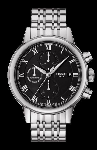 ティソ T-クラシック カルソン オートマティック クロノグラフ T085.427.11.053.00