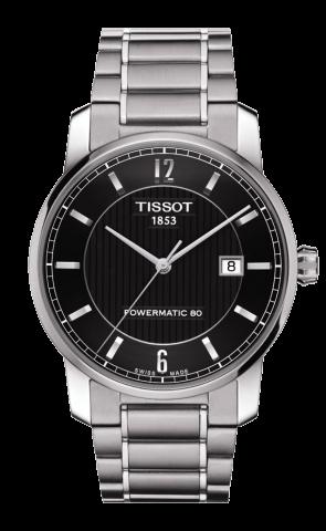 ティソ T-クラシック チタニウム オートマティック T087.407.44.057.00