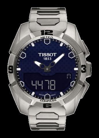 ティソ タッチコレクション T-タッチ エキスパートソーラー チタン T091.420.44.041.00