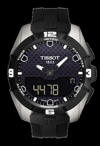ティソ タッチコレクション T-タッチ エキスパートソーラー チタン T091.420.47.051.00