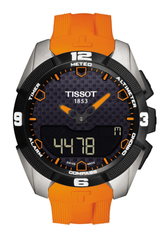 ティソ タッチコレクション T-タッチ エキスパートソーラー チタン T091.420.47.051.01