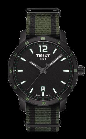 ティソ T-スポーツ クイックスター NATO T095.410.37.057.00