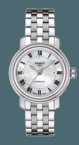 ティソ T-クラシック ブリッジポート オートマティック  レディ T097.007.11.113.00