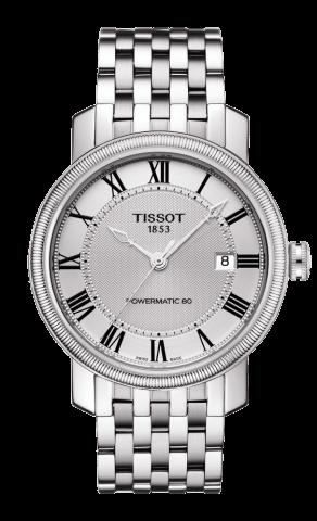 ティソ T-クラシック ブリッジポート オートマティック T097.407.11.033.00