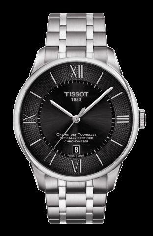 ティソ T-クラシック シャミン・ドゥ・トゥレル パワーマティック80 ジェンツ COSC T099.408.11.058.00