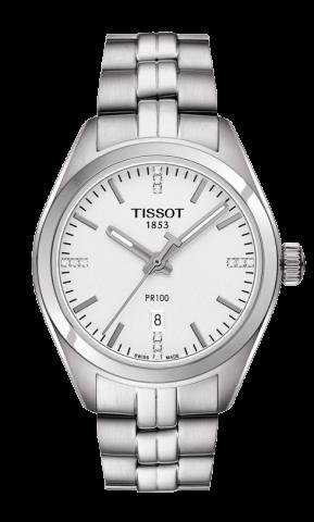 ティソ T-クラシック PR100 レディ ダイヤモンド T101.210.11.036.00