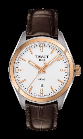 ティソ T-クラシック PR100 レディ ダイヤモンド T101.210.26.036.00