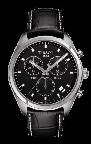 ティソ T-クラシック PR100 ジェント クロノグラフ T101.417.16.051.00