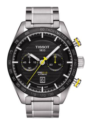 ティソ T-スポーツ PRS 516 オートマティック クロノグラフ T100.427.11.051.00