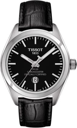 ティソ T-クラシック PR100 クオーツクロノメーター レディ T101.251.16.051.00