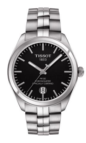 ティソ T-クラシック PR100 クオーツクロノメーター T101.451.11.051.00