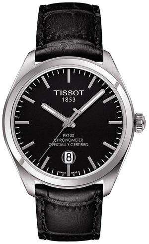 ティソ T-クラシック PR100 クオーツクロノメーター T101.451.16.051.00