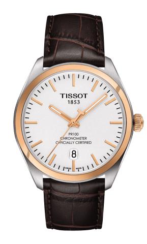 ティソ T-クラシック PR100 クオーツクロノメーター T101.451.26.031.00