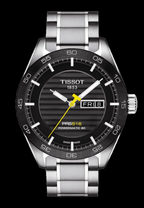 ティソ PRS516 オートマティック デイデイト T100.430.11.051.00