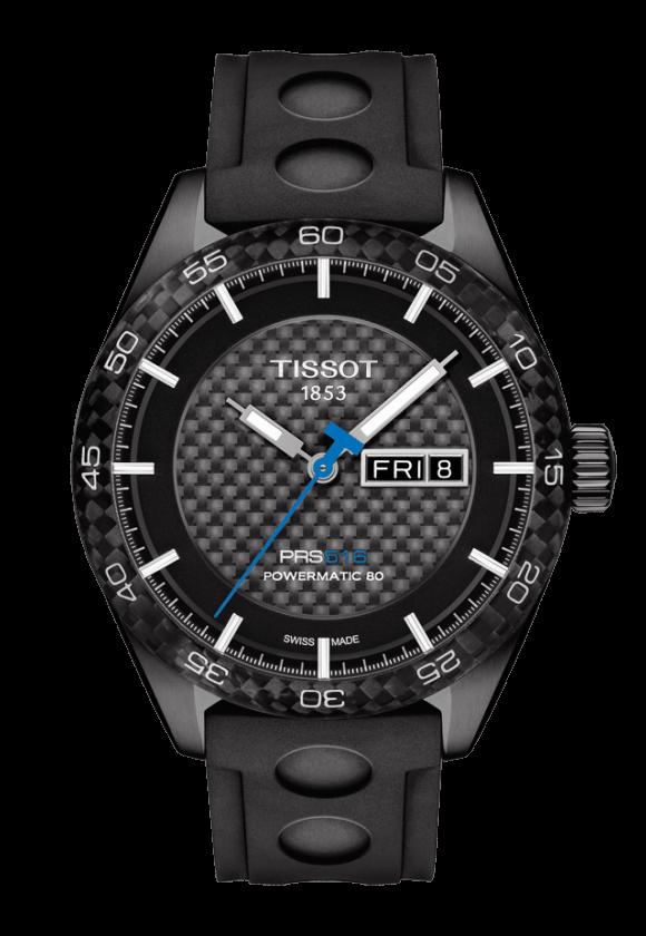ティソ PRS516 オートマティック デイデイト T100.430.37.201.00