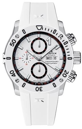 エドックス クロノオフショア1 オートマティック クロノグラフ 01122-3BN-BINN