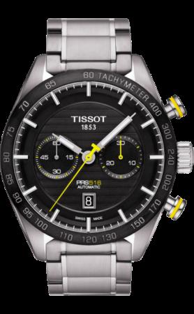 ティソ PRS516 オートマティック クロノグラフ T100.427.11.051.00