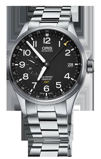オリス ビッグクラウン プロパイロット GMT スモールセコンド 748 7710 4164MB