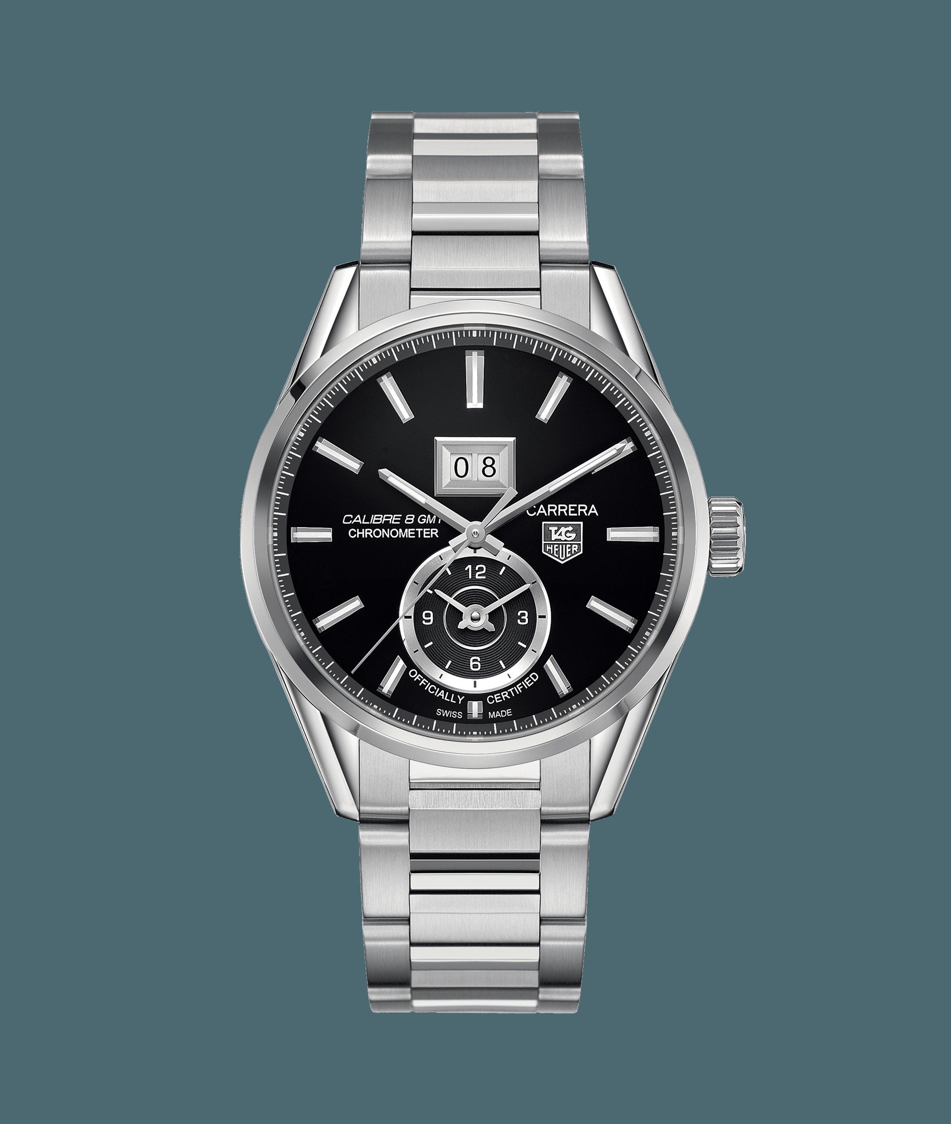 タグ・ホイヤー カレラ オートマティック GMTグランドデイト WAR5010.BA0723