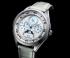 カンパノラから華やかな36㎜サイズのムーンフェイズ限定モデルが登場 EC4000-11W EC4000-03A