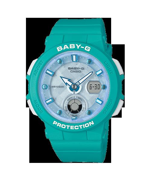 BABY-G Beach Traveler デジアナ BGA-250-2AJF