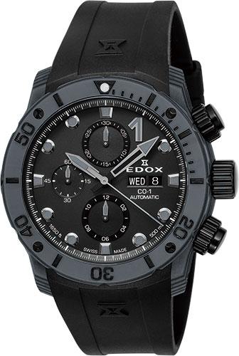エドックス クロノオフショア1 カーボン オートマティッククロノグラフ 01125-CLNGN-NING