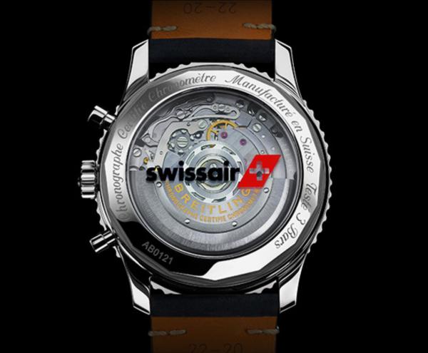 ブライトリング-ナビタイマー1 B01 クロノグラフ43 Airline Edition カプセルコレクション スイスエア AB01211B1B1X1 画像3
