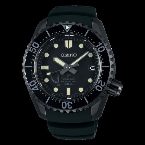 セイコー プロスペックス LXライン ブラックエディション 海 スプリングドライブ SBDB021