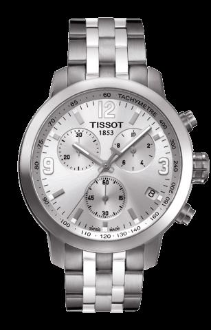 ティソ PRC200 クオーツ クロノグラフ T055.417.11.037.00