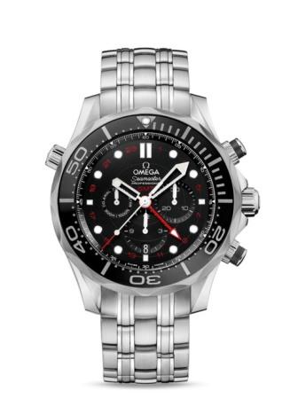 オメガ シーマスター ダイバー300M コーアクシャル GMT クロノグラフ 44㎜ 212.30.44.52.01.001