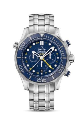 オメガ シーマスター ダイバー300M コーアクシャル GMT クロノグラフ 44㎜ 212.30.44.52.03.001