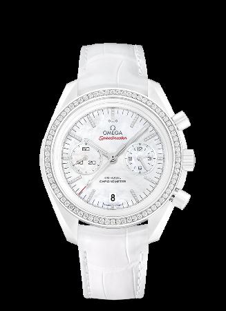 オメガ スピードマスター ムーンウォッチ ホワイト サイド オブ ザ ムーン 311.98.44.51.55.001