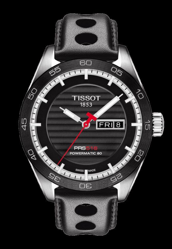 ティソ PRS516 オートマティック デイデイト T100.430.16.051.00