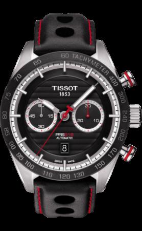 ティソ PRS516 オートマティック クロノグラフ T100.427.16.051.00
