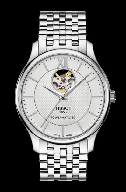 ティソ トラディション オープンハート T063.907.11.038.00
