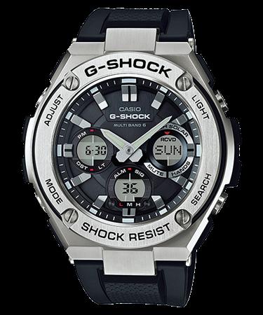 G-SHOCK G-STEEL タフソーラー電波 マルチバンド6 GST-W110-1AJF
