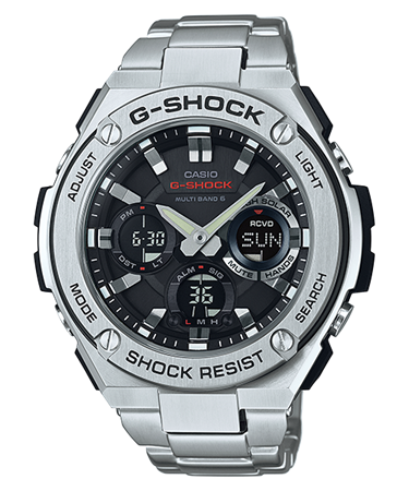 G-SHOCK G-STEEL タフソーラー電波 マルチバンド6 GST-W110D-1AJF