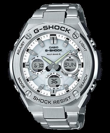 G-SHOCK G-STEEL タフソーラー電波 マルチバンド6 GST-W110D-7AJF