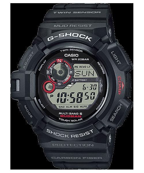 G-SHOCK マッドマン ツインセンサー 電波ソーラー GW-9300-1JF