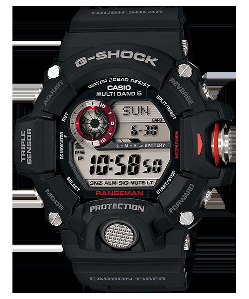 G-SHOCK レンジマン トリプルセンサー 電波ソーラー GW-9400J-1JF