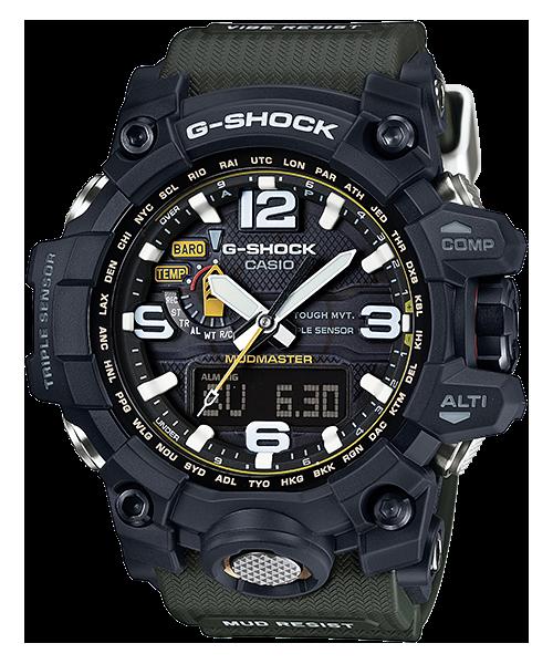 G-SHOCK マッドマスター トリプルセンサー 電波ソーラー GWG-1000-1A3JF