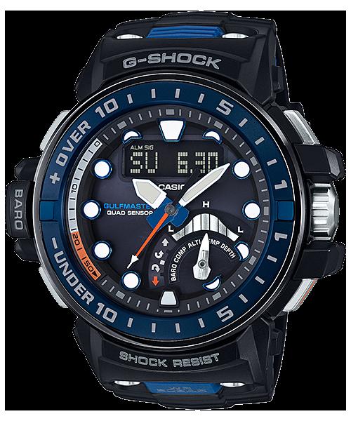 G-SHOCK ガルフマスター クワッドセンサー 電波ソーラー GWN-Q1000-1AJF