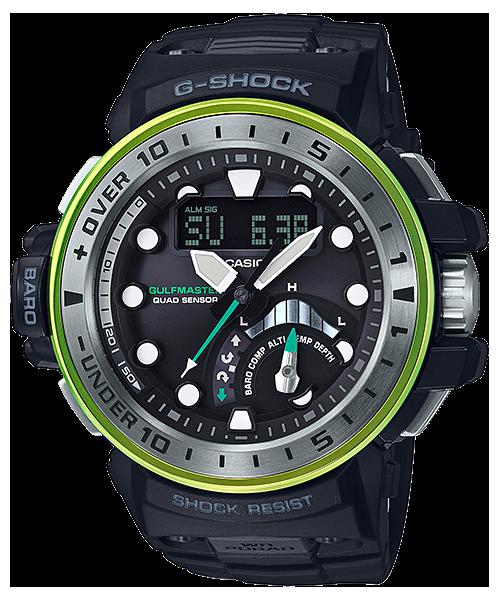 G-SHOCK ガルフマスター クワッドセンサー 電波ソーラー GWN-Q1000MB-1AJF