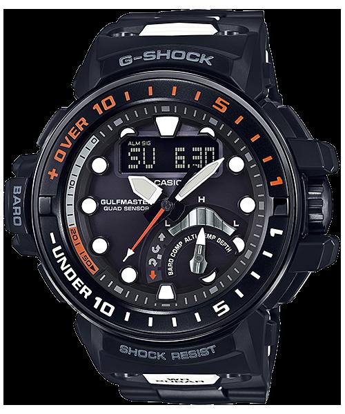 G-SHOCK ガルフマスター クワッドセンサー 電波ソーラー GWN-Q1000MC-1AJF